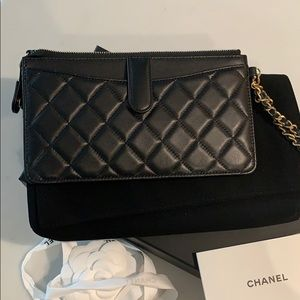 CHANEL Bags - Chanel Wristlet Clutch